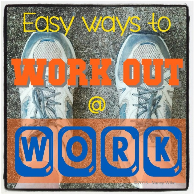work out at work