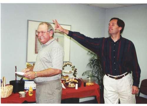 Jules Brazil and Frank Grant