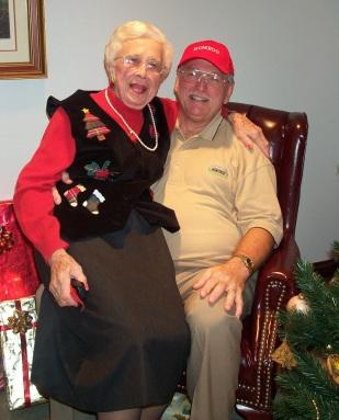 Jules Brazil and Cornelia Matthews - Christmas 2003