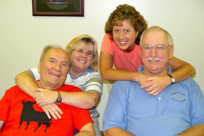Ed Day, Gina Embry, Donnette Davis, and Jules Brazil - June 2005