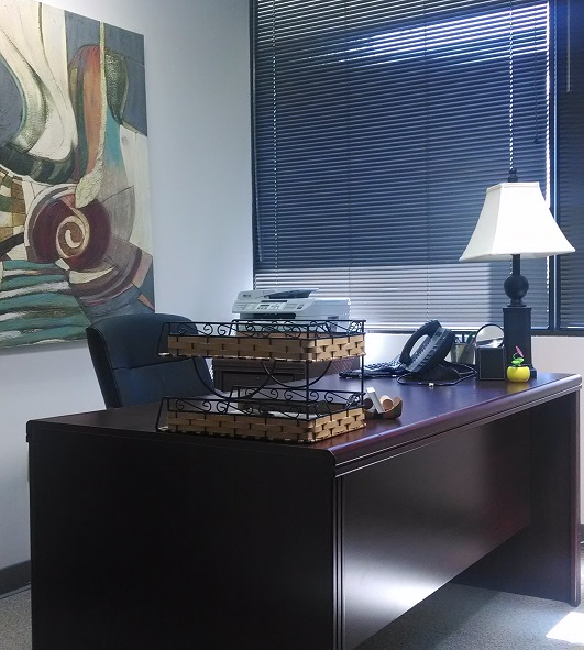 110 sq. ft. window office available - Nashville Office Space