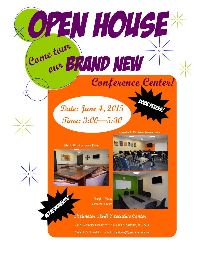 Conference Center Open House