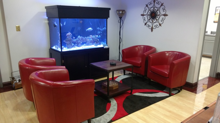 Reception area for your Nashville office