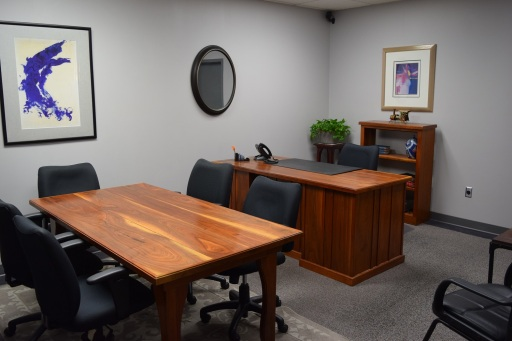 Large interior team office space available.